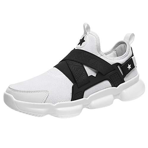 Calzado Deportivo de Exterior de Hombre ZARLLE Zapatillas de Deporte Hombres Zapatos de Gimnasia para Caminar de Peso Ligero Zapatillas de Deporte Zapatos Deportivos para Hombre