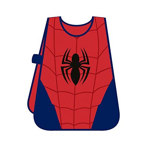 SPIDERMAN PVC schort, meerkleurig rood/blauw.