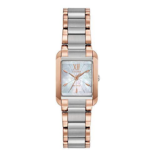 Citizen EW5556-52D Bianca Reloj de diamantes con esfera blanca MOP para mujer