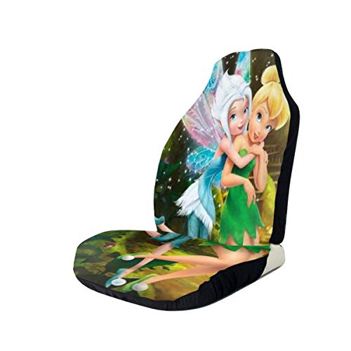 ZWFLAU Tinkerbell and Fairy Car Seat Covers for Car Seat Protectors 1 PCS/2 PCS