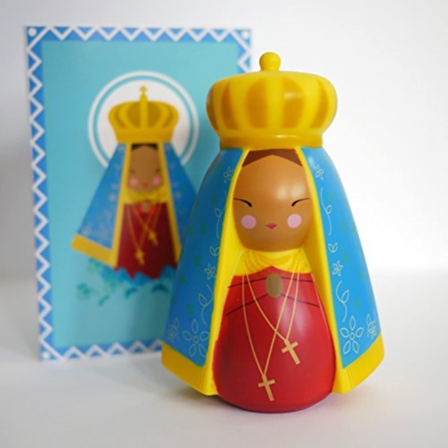 Our Lady of Aparecida, Brazil Collectible Vinyl Doll by Shining Light Dolls