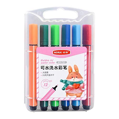 Kinderen Art Marker Pens Tip Krijtstiften Neon Kleur Vloeibare Krijtstiften | Niet-giftig, Nat Veeg | Voor Blackboards, Krijtbord, Raam, Glas 3ML Tekening Aquarel Pen Set 12/18/24/36 Kleuren