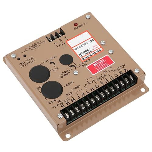 Piezas Del Grupo Electrógeno, Regulador De Velocidad De Diseño De Equipo Electrónico Completo Con 1 Controlador De Velocidad 1 X Manual De Usuario Para Regulador De Controlador De Velocidad