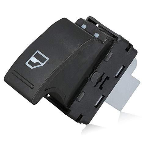 Interruptor de la ventana - 1 PC del coche Interruptor de la ventana eléctrica Botón del lado del pasajero Lado del lado del pasajero Interruptor de elevación para VW T5 7E0.