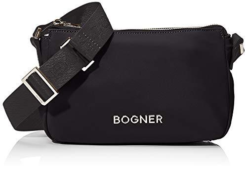 Bogner BOGNERKlosters Cleo Shoulderbag ShzDonnaBorse a spallaNero (Black) 7x14x23 centimeters (W x H x L)