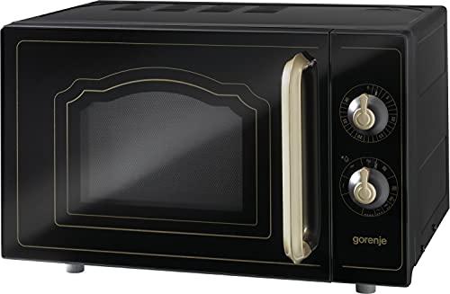 Gorenje MO 4250 CLB - Microondas sencillos, 20 l, 700 W, color negro