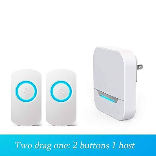 Zelfvoorzienende draadloze deurbel, waterdichte deurbel, 36 optionele koude geluiden, volume tot 90 dB, afstand tot 300 meter #2