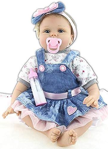 XL68chao Reborn Puppe 55cm handgemachte silikon Reborn Baby lebensechte Puppe Reborn bonecas mädchen Spielzeug für Kinder