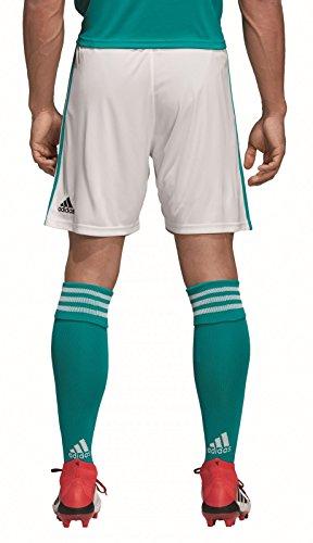 adidas Kinder DFB Away Short 2018, White/EQT Green s16, 176