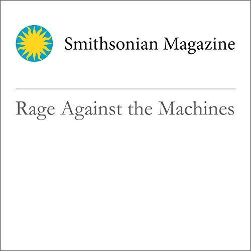 Rage Against the Machines audiobook cover art