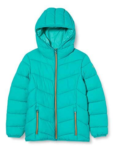 CMP Mädchen Steppjacke mit Feel Warm Flock Wattierung Jacke, Emerald, 176