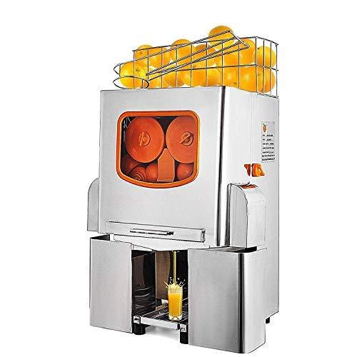 Moracle Licuadora Exprimidor de Naranja Eléctrico 22-25 Naranjas/Min Licuadora de Zumos Automático 120W Juicer de Naranja/Lemón Profesional Extractor de Acero Inoxidable Máquina Comercial