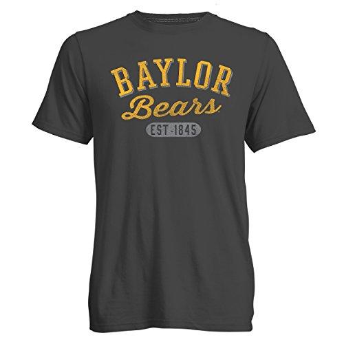 Camp David NCAA Go to Herren Signature Short Sleeve Crew Neck Tee, Herren, Go to Tee, Carbon, Small