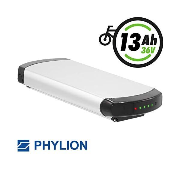 412uWGOVo3L. SS600  - Phylion Akku XH370-10J für E-Bike Pedelec 37V 12Ah