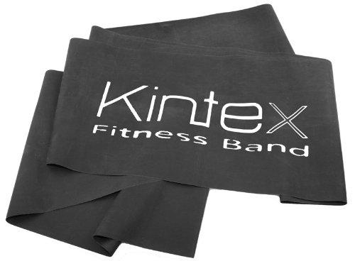Kintex Fitnessband Schwarz (spezial stark), Gymnastik-Band, Wiederstands-Band