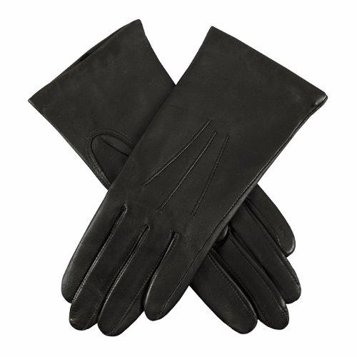 Dents Damen Handschuh, Schwarz, 34