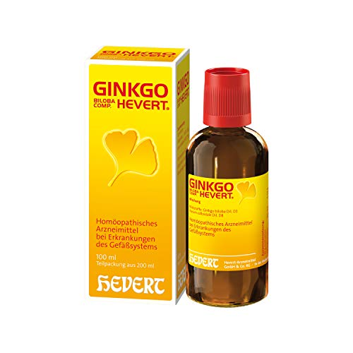 Ginkgo biloba comp. Hevert Tropfen, 200 ml Lösung