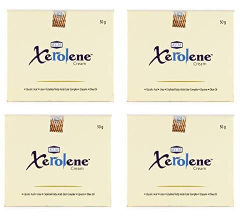 KLM Xerolene cream - best cream for dry skin(pack of 4)50g