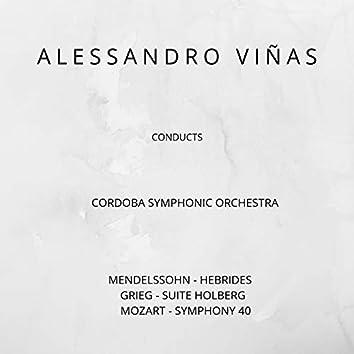 Mendelssohn, Grieg, Mozart: Alessandro Viñas