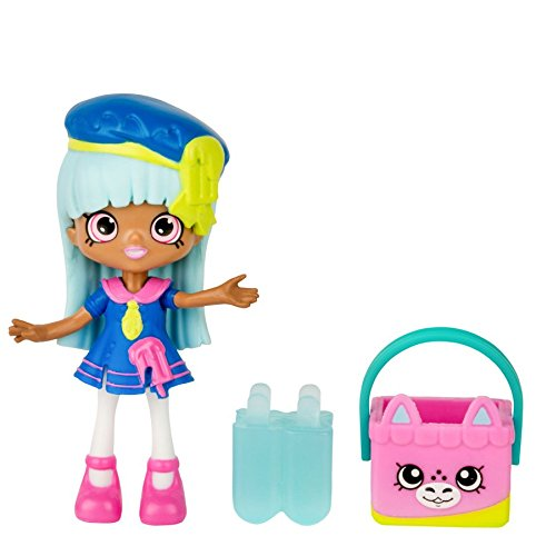 Shopkins Happy Places Rainbow Beach Lil' Shoppie-Popsi Blue