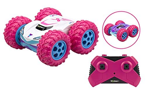 EXOST RC 20260 360 CROSS AMAZONE by Silverlit, ferngesteuertes Auto, 2.4 Ghz Technologie, Action und Spaß, mädchenhaftes Design, Maßstab 1:18, pink, ab 5 Jahren