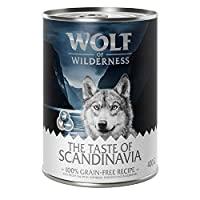 Meat and offal from 3 sources, typical to the wild wolf's regional prey Complete wet food for adult dogs Enriched with healthy berries No artificial additives such as preservatives, colour or taste enhancers Grain-free so suitable for dogs with nutri...