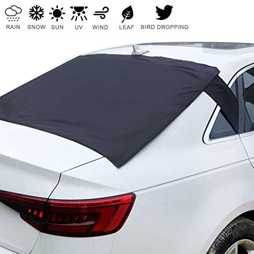 Homiar Rear Windshield Snow Cover