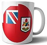 Bermuda - Bermuda Bandiera Bermuda - Tè - Caffè - Tazza - Tazza - Compleanno - Natale - Regalo - Babbo Natale segreto