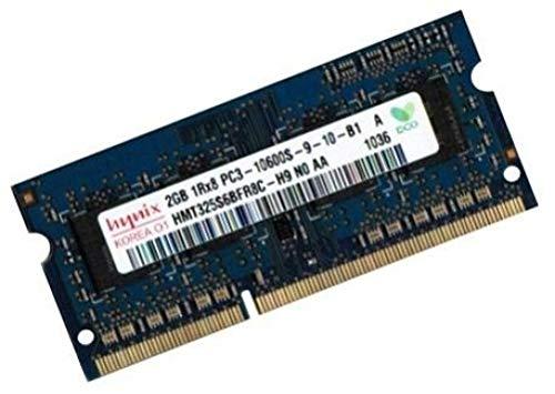 Mihatsch & Diewald / Hynix Arbeitsspeicher 1 x 2 GB 204 pin DDR3-1333 SO-DIMM (1333Mhz, PC3-10600S, CL9, 204 pin) für Asus Netbook EEE PC 1001PXD + 1005PX + 1011PX + 1015B + 1015BX + 1015PD + 1015PN + 1015PED + 1015PEM + 1016P + 1016P + 1016PG + 1215N + 1215PN + R011PX + R101D + R105D + T101MT + X101 + X101H + Lamborghini VX6