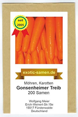 Möhre - Karotte - Gonsenheimer Treib (200 Samen)