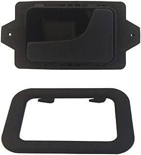 DELPA CL4722 > Right Inside Interior Inner Door Handle + Bezel Black Fits: BMW 3 5 6 7 Series E12 E23 E24 E28 E30 E32 E34 E36 E38 E39 E46 E60 E61 E63 E64 E65 E66 F01 F02