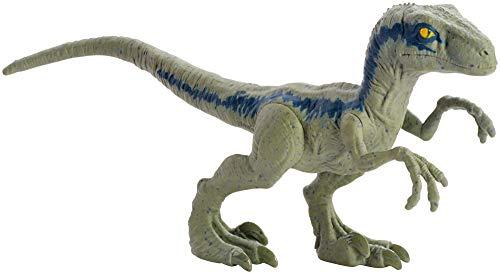 Mattel Jurassic World Velociraptor Blue Mini Dinosaurio GFM01