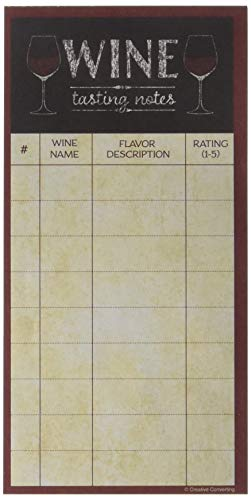 Creative Converting Sip Hooray Wine Tasting Score Sheet Party Supplies, Multicolor
