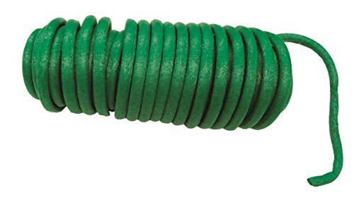 Connex Baumanbinder 10 m - Flexibler & biegsamer Gartendraht - Mit pflanzenschonendem Gummiüberzug - Frei zuschneidbar - Grün / Bindedraht / Baumbinder mit Drahtkern / FLOR78735
