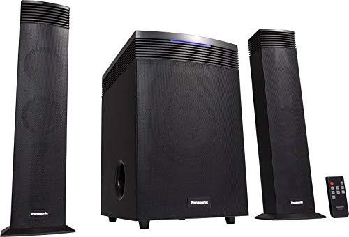 Panasonic HT21 65 Watt 2.1 Channel Wireless Bluetooth Subwoofer, Satellite Speaker (Black)