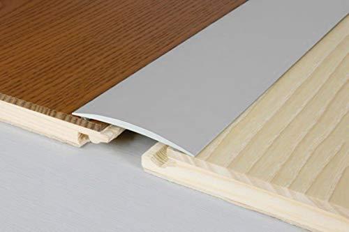 1 Meter | Übergangsprofile | Alu | rostfrei | Effector | 1000x60x5mm | A70SK | silber