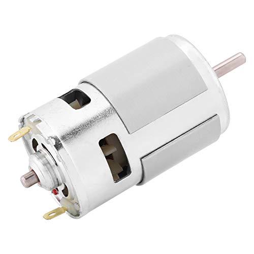 DC-Bürstenloser Motor 12V 0.32A 150W 13000-15000RPM Metallmikrogetriebemotor Kasten Drehmomentstarkes Justierbares Elektromotor-Getriebe Ausgangswelle-Getriebemotor