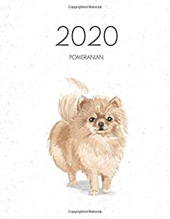 2020 Pomeranian: Dated Weekly Planner With To Do Notes & Dog Quotes - Pommeranian (Awesome Calendar Planners for Dog Owners)