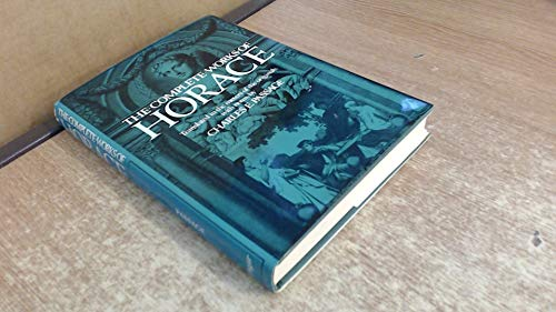 Complete Works of Horace (Quintus Horatius Flaccus) (English and Latin Edition)