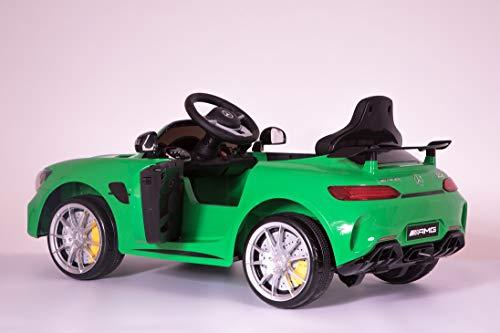 RC Auto kaufen Kinderauto Bild 5: Toyas Mercedes Benz GTR AMG Sportwagen KINDERFAHRZEUG KINDERAUTO Grün*