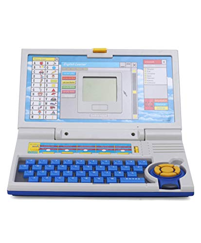 divine man English Learner Power Educational Laptop,Notebook 20 Fun Activities Games Enhanced Skills of Children for Boys and Girls -Educational Laptop