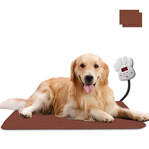 baratos y buenos Manta térmica Qomolo para perros y gatos, calentador de mascotas de 30W para … calidad