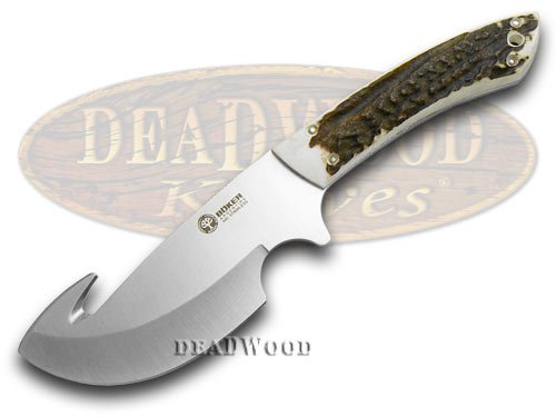 BOKER ARBOLITO Genuine Deer Stag Gut Hook Fixed Blade Knife Knives