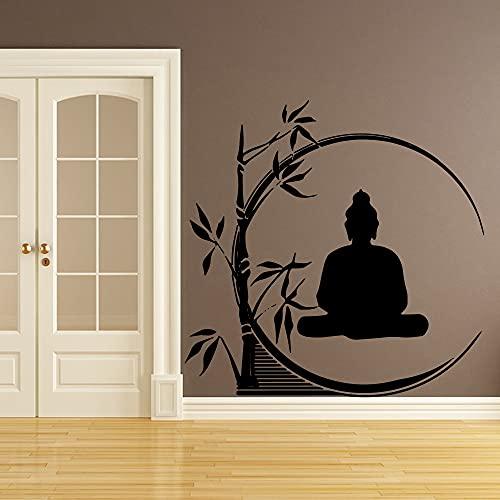 Arte de Buda pegatinas de pared de dibujos animados decoración del hogar decoración de la habitación de los niños decoración de la pared pegatina Mural arte Mural A6 30x29cm
