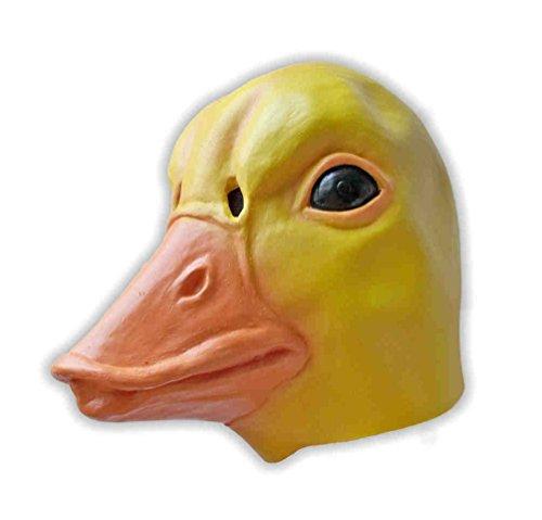 Danzetta Enten Maske Gummi Gelb Ente