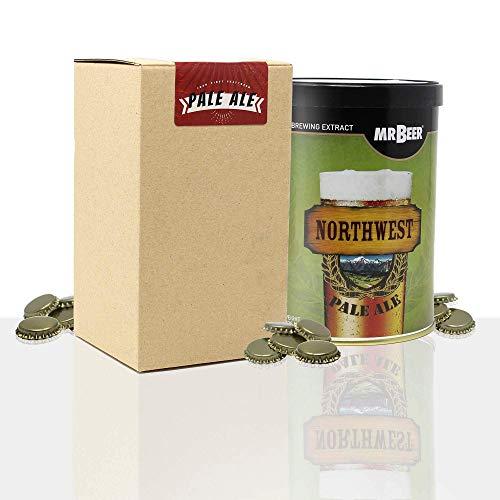 #My Brewery DRINK YOUR OWN BEER Recarga de materias primas con extracto para Hacer Cerveza Pale Ale | Tu Primera Cerveza casera | 8 litros | Elabora Cerveza Artesanal