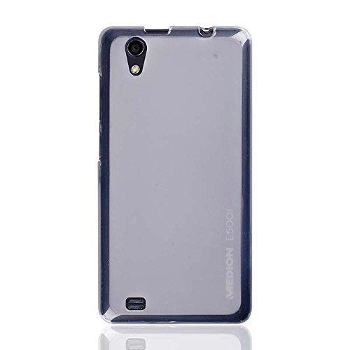 caseroxx TPU-Hülle für Medion Life E5001, Handy Hülle Tasche (TPU-Hülle in transparent)