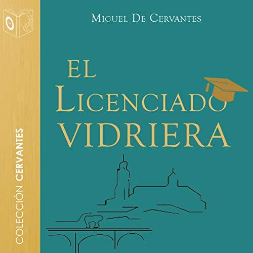 Diseño de la portada del título El licenciado vidriera