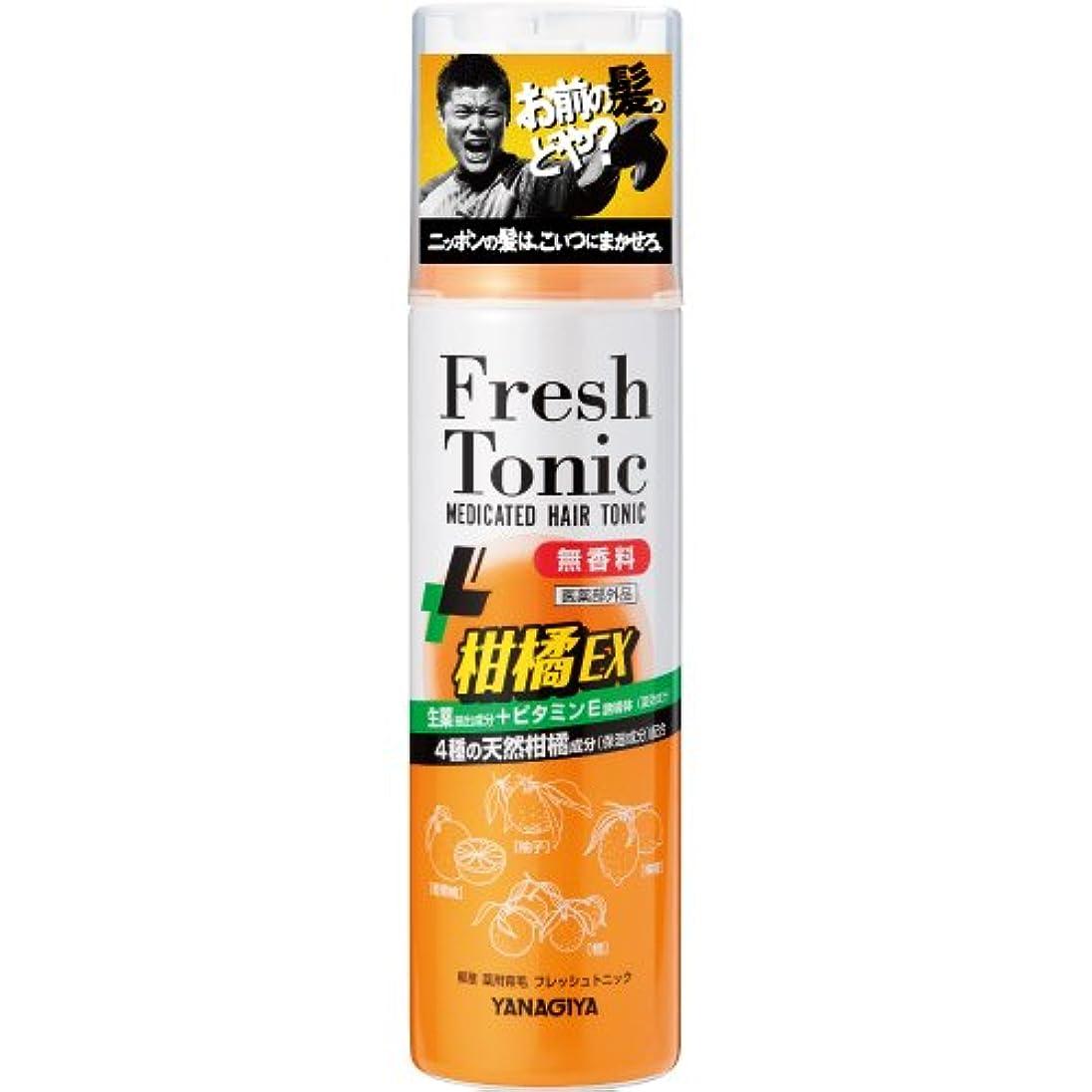 リンケージ時折イル柳屋 薬用育毛 フレッシュトニック 柑橘EX <無香料> 190g