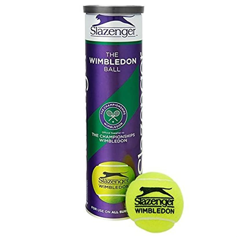 Slazenger Wimbledon Official Tennis Balls- 6 Tubes 24 Balls Special Offer - by Slazenger